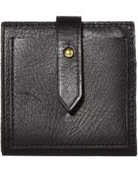 Madewell Bifold Post Wallet - Black