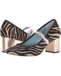Frances Valentine - Kat (red Velvet) Women's Shoes - Lyst