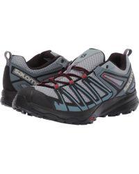 Men/'s Salomon X Crest Hiking Boot Magnet//Black//Monument