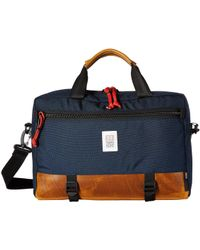 Topo Commuter Briefcase - Blue