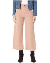 72f7bc7a07c4 Nadia High Waist Wide Ankle Pant.  148. Dillard s · Frye - Nadia Canvas  Pants (rose) Women s Casual Pants - Lyst