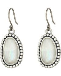 Lucky Brand - Mother-of-pearl Drop Earrings Ii - Lyst