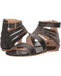 Bed Stu - Artemis (black Handwash) Women's Sandals - Lyst