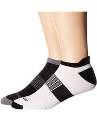 Brooks Ghost Midweight 2-pair Pack Low Cut Socks Shoes - Black
