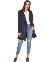 Blank NYC - Short Lightweight Trench In High Seas - Lyst