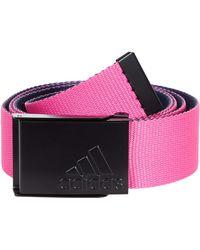 adidas Originals Reverse Webbing Belt - Pink