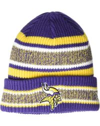 KTZ - Minnesota Vikings Vintage Stripe (purple) Baseball Caps - Lyst b1773ac83