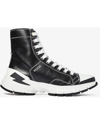 Neil Barrett Bolt 02 Classic Sneaker - Black