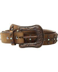 Ariat - Nailhead Belt (tan) Women's Belts - Lyst
