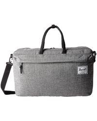 Herschel Supply Co. - Winslow (black Crosshatch) Luggage - Lyst