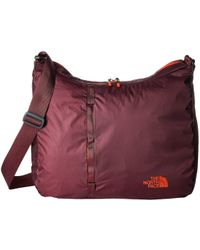 The North Face - Flyweight Tote (tnf Black/asphalt Grey) Handbags - Lyst