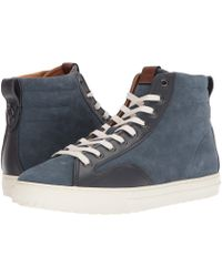 COACH - C227 Mixed Material High Top (dusk Midnight Navy) Men's Shoes - Lyst