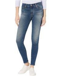 AG Jeans Farrah Skinny In 13 Years Moonlit Jeans - Blue