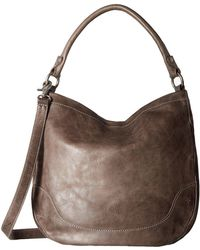 Frye - Melissa Hobo (beige Antique Pull Up) Hobo Handbags - Lyst