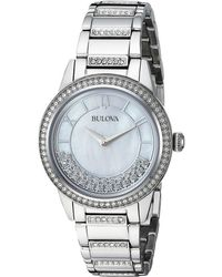 Bulova - Turnstyle - 96l257 (stainless) Watches - Lyst