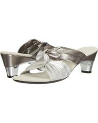 Onex - Kylee (black/silver) Women's Dress Sandals - Lyst