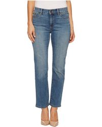 Lauren by Ralph Lauren - Petite Premier Straight Jeans (perry Wash) Women's Jeans - Lyst
