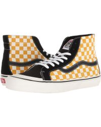 aab5470349adfb Vans - Sk8-hi 138 Decon Sf (black white) Men s Skate Shoes