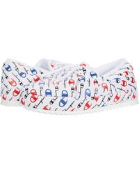 Champion College Repeat Slippers From Finish Line - White
