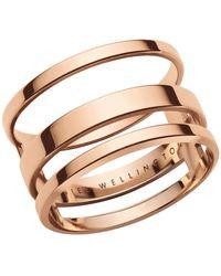 Daniel Wellington Elan Triad Ring - Metallic