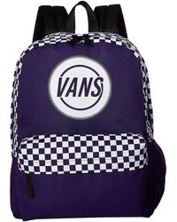 Vans Taper Off Realm Backpack - Purple
