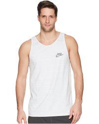 Nike Sportswear Advance 15 Tank - White