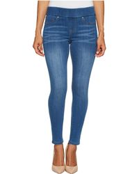Liverpool Jeans Company - Petite Sienna Pull-on Ankle In Silky Soft Denim Coronado Mid - Lyst