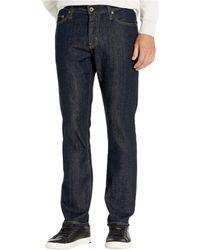 AG Jeans Everett Slim Straight Leg Jeans In Highway - Blue