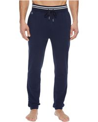 Lacoste - Modal French Terry Lounge Side Stripe Pants - Lyst