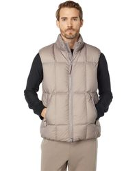 Theory Aaron Washer Nylon Vest - Brown