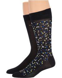 BOSS - Two-pack Of Socks In A Mercerized-cotton Blend - Lyst