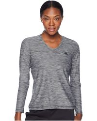 adidas Long Sleeve Tech T-shirt - Gray