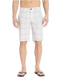 O'neill Sportswear Outsider Plaid Hybrid Series - Gray