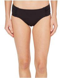 Tommy Bahama - Pearl High-waist Side-shirred Bikini Bottom (mare Navy) Women's Swimwear - Lyst