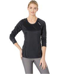 2XU Xvent Long Sleeve Top - Black