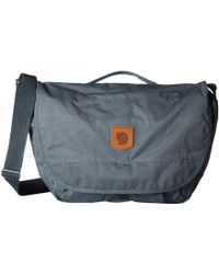 Fjallraven - Greenland Shoulder Bag (black) Shoulder Handbags - Lyst