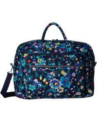 Vera Bradley Iconic Grand Weekender Travel Bag - Multicolor