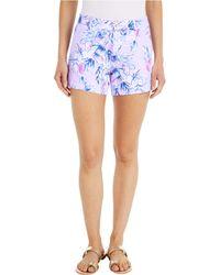 Lilly Pulitzer Callahan Knit Shorts - Purple