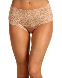 Hanky Panky - Silky Skin High Rise Panty (black) Women's Underwear - Lyst