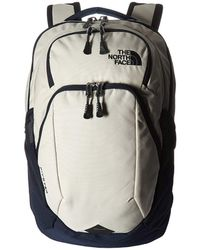The North Face - Pivoter Backpack (tnf Dark Grey Heather/persian Orange) Backpack Bags - Lyst