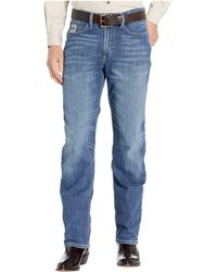 Cinch Silver Label Jeans In Medium Stonewash - Blue
