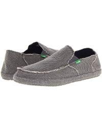 Sanuk - Rounder (brown) Men's Slip On Shoes - Lyst