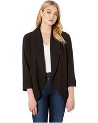 Kensie - Stretch Crepe Blazer Ks2k2336 (black) Women's Jacket - Lyst