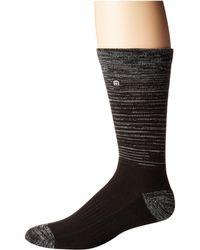Travis Mathew - Fade (black) Men's Crew Cut Socks Shoes - Lyst
