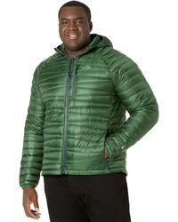 L.L. Bean Ultralight 850 Down Sweater Hooded Jacket - Green