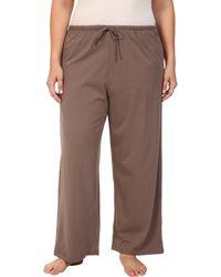 Jockey - Cotton Essentials Plus Size Long Pajama Pant (eggplant) Women's Pajama - Lyst