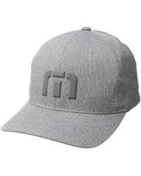 Travis Mathew - Drop Out (heather Grey) Baseball Caps - Lyst