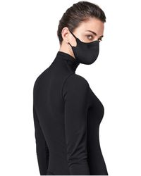 Wolford Stay Safe Face Mask With Water-repellent Finish - Black