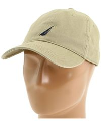 3d0b40b954f12c Nautica J-class Hat in Blue for Men - Lyst