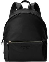Kate Spade The Nylon City Pack Large Backpack - Black